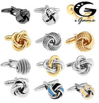 18 Designs Fashion Knot Cufflinks