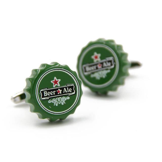 18 Novelty Designed Cufflinks