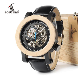 Luxury Vintage Bronze Skeleton Steampunk Watch