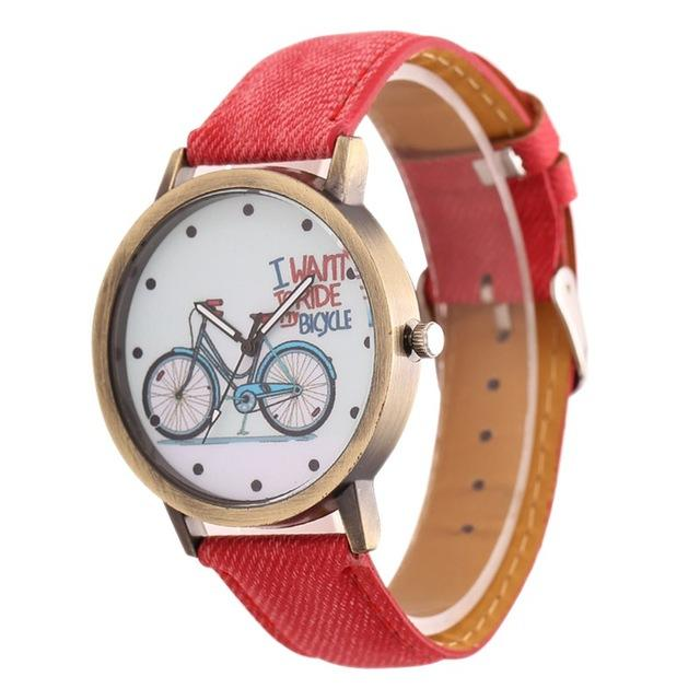 I Want To Ride My Bicycle Watch