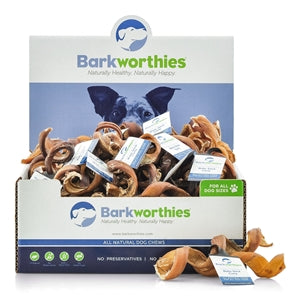 Barkworthies Bully Stick - Curly - wigglewaggleworld