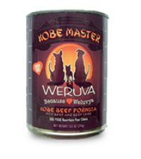 Weruva Kobe Master Dog Food Case/12
