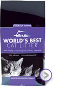 World's Best Litter Scented Multiple Cat Formula - 28 lb. Bag