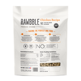 Bixbi RAWBBLE Freeze Dried Food for Dogs - Chicken - wigglewaggleworld