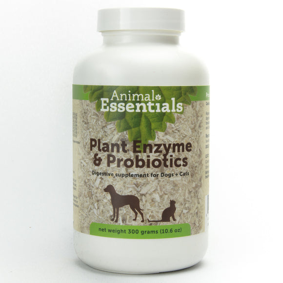Animal Essentials Plant Enzyme w/Probiotics 300 gm - wigglewaggleworld