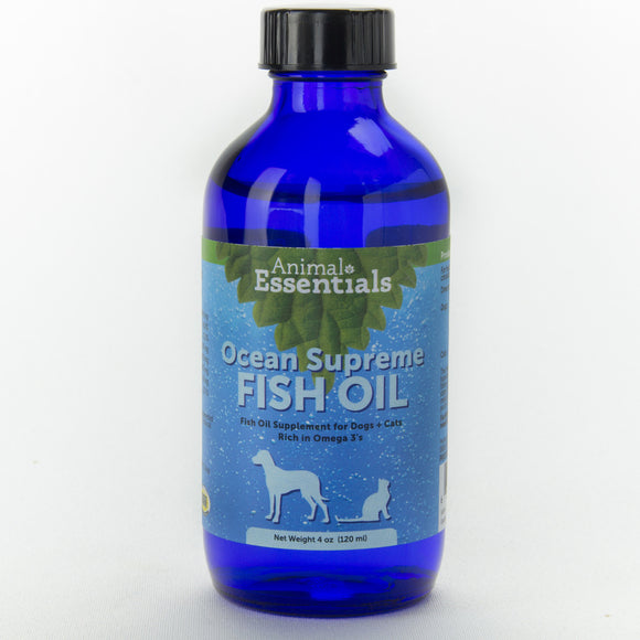 Animal Essentials Ocn Sprme Fish Oil 4z - wigglewaggleworld