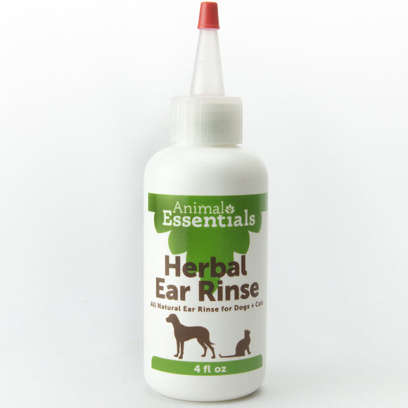 Animal Essentials Herbal  Ear Rinse 4oz - wigglewaggleworld