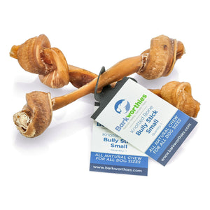 Barkworthies Bully Stick - Knotted Bone - Small - wigglewaggleworld