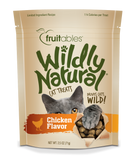 Fruitables Wildly Natural Cat Treats Chicken - wigglewaggleworld