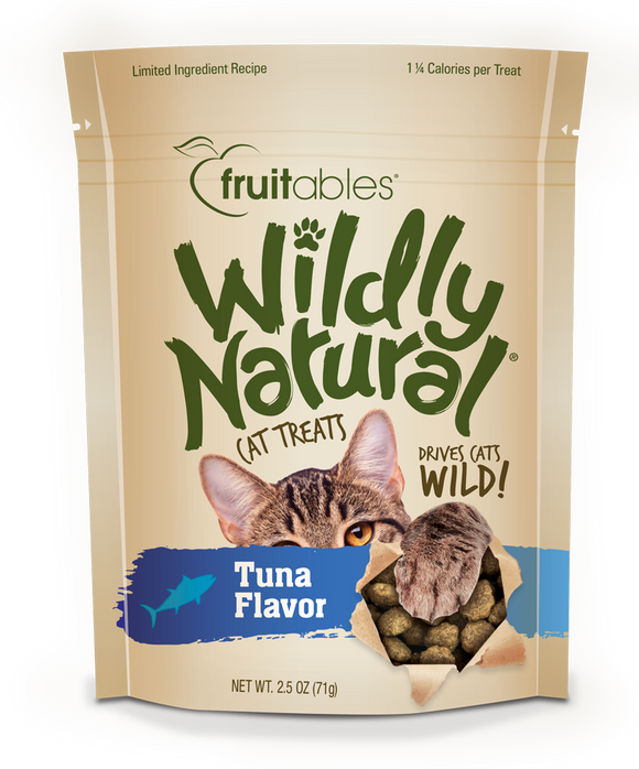Fruitables Wildly Natural Cat Treats Tuna - wigglewaggleworld