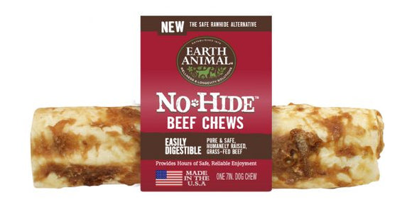 Earth Animal No-Hide Beef 7 Inch Chews - wigglewaggleworld
