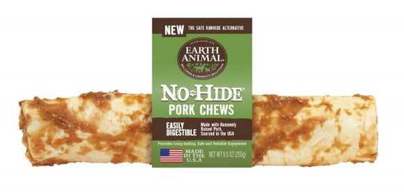 Earth Animal No-Hide Pork 11 Inch Chews - wigglewaggleworld