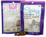 In CLover SPRY Respiratory and Ocular Support for Cats - wigglewaggleworld