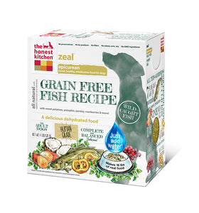 The Honest Kitchen Zeal Grain Free Fish Dog Food - wigglewaggleworld