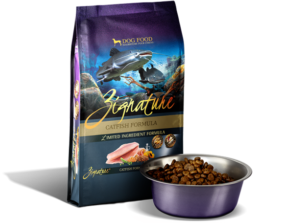 Zignature Limited Ingredient Catfish Formula Dog Food - wigglewaggleworld