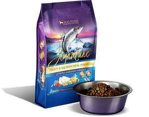 Zignature Limited Ingredient Wild Trout and Salmon Formula Dog Food - wigglewaggleworld