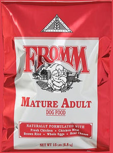 Fromm Classic Mature Adult Dog Food - wigglewaggleworld