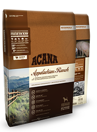 Acana Regional Appalachian Ranch Formula Grain Free Dry Dog Food WiggleWaggleWorld.com