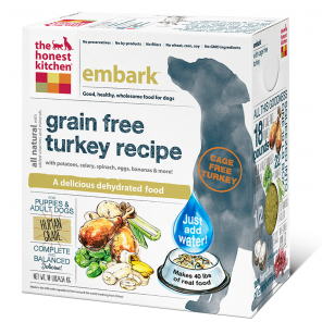 The Honest Kitchen Embark Grain Free Turkey Dog Food - wigglewaggleworld