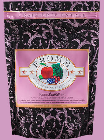 Fromm Four Star Beef Livattini Veg Cat Food - wigglewaggleworld