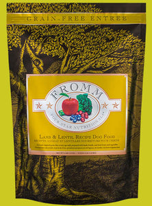 Fromm Four Star Lamb & Lentil Dog Food - wigglewaggleworld