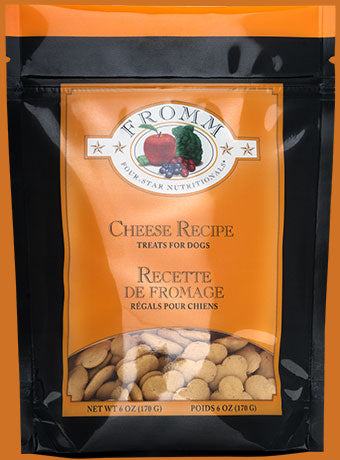 Fromm Four Star Cheese Recipe Treats For Dogs - wigglewaggleworld