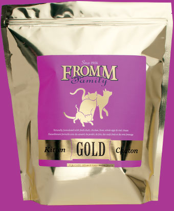 Fromm Kitten Gold Cat Food - wigglewaggleworld