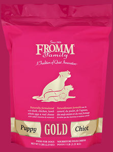 Fromm  Gold Puppy Food - wigglewaggleworld