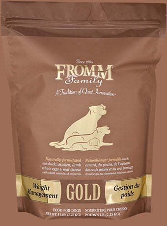 Fromm Gold Weight Management Dog Food - wigglewaggleworld