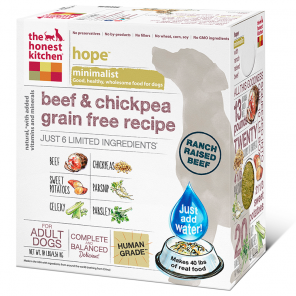 The Honest Kitchen Hope Beef & Chickpea Dog Food - wigglewaggleworld