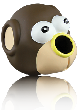 Starmark  TREAT Dispensing Monkey - wigglewaggleworld