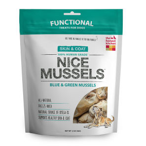 The Honest Kitchen Nice Mussels Dog Treats - wigglewaggleworld