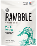 Bixbi  RAWBBLE Freeze Dried Food for Dogs - Duck - wigglewaggleworld