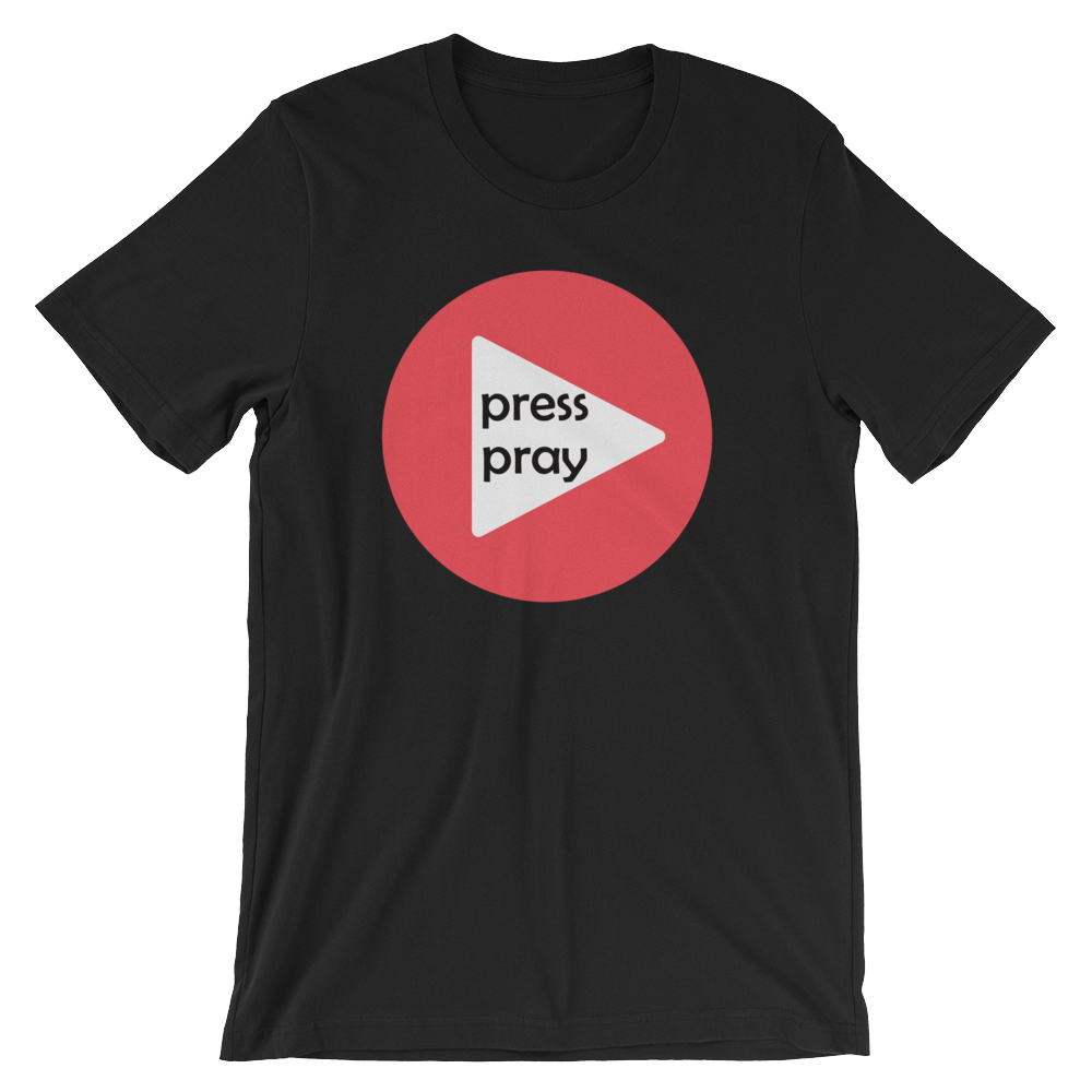 Men's Press Pray Tee
