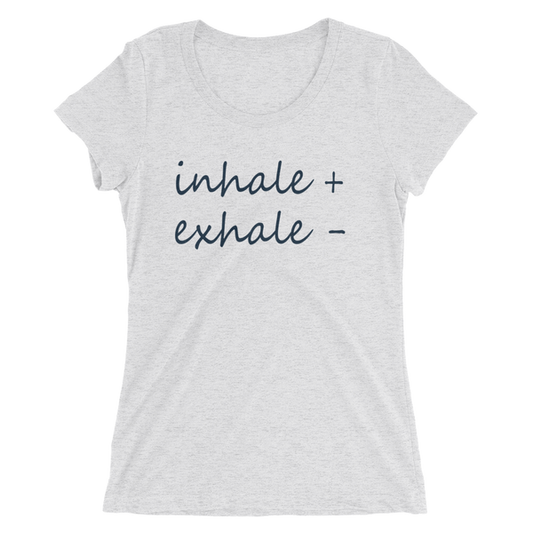 Women's Inhale Exhale Tee