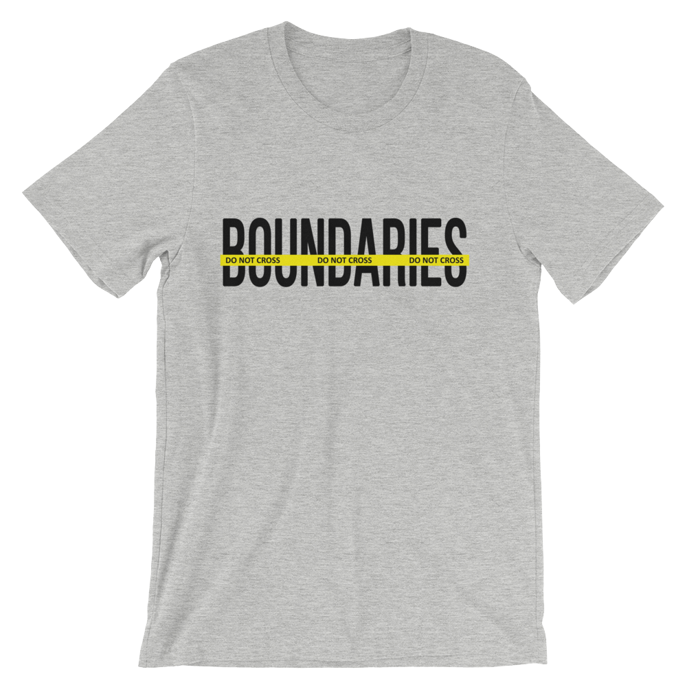 Men's Boundaries Tee