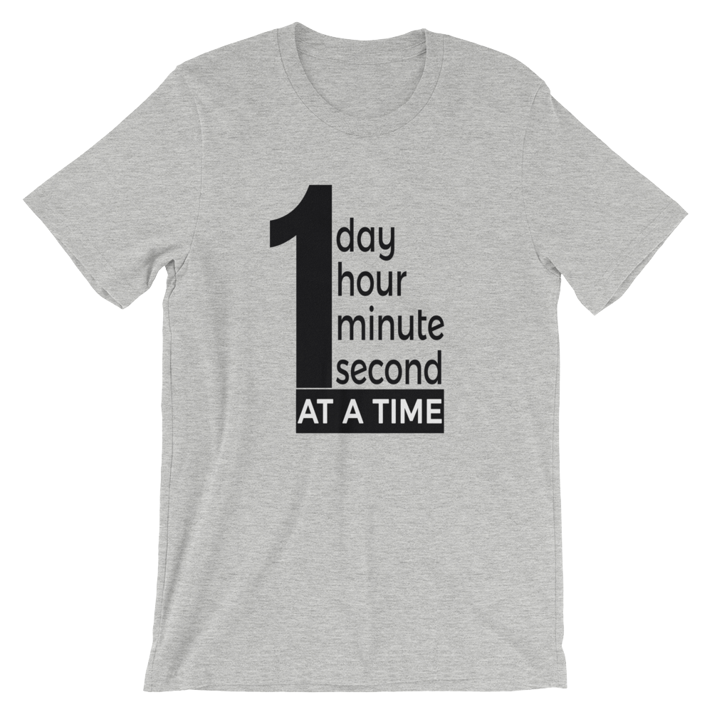Men's One Day At A Time Tee