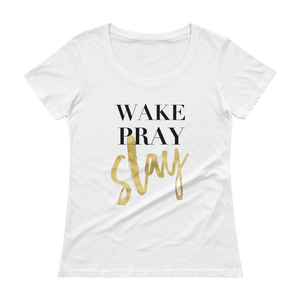Women's Wake Pray Slay Tee