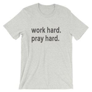 Men's Work And Pray Tee