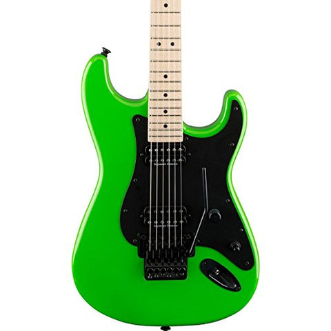 Charvel Pro-Mod So-Cal Style 1 HH Electric Guitar (Slime Green)