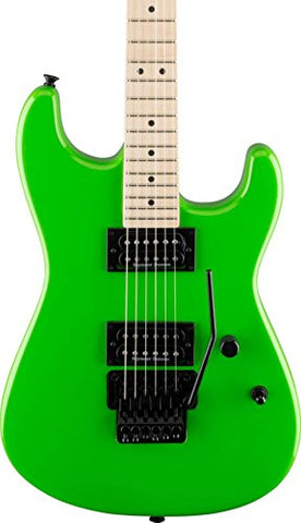 Charvel Pro Mod San Dimas Style 1 HH Floyd Rose Electric Guitar Slime Green