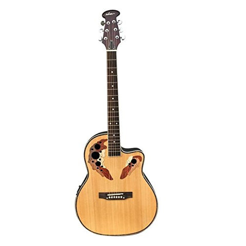ADM Full Size Acoustic Electric Cutaway Guitar
