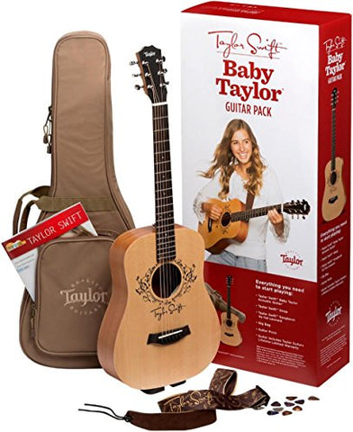 Taylor Swift Signature Baby Taylor Acoustic Guitar Pack Natural