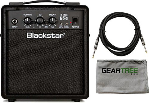 Blackstar LT-ECHO 10 10W 2-Channel Combo Guitar Amplifier w/ Cloth and Cable