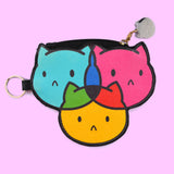 Sassy Kitties CMYKitty Coin Bag ♥ THREE VARIANTS AVAILABLE! ♥
