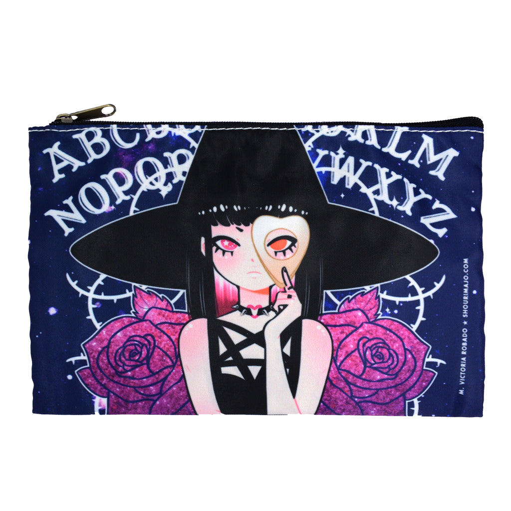 Ouija Witch Zipper Bag
