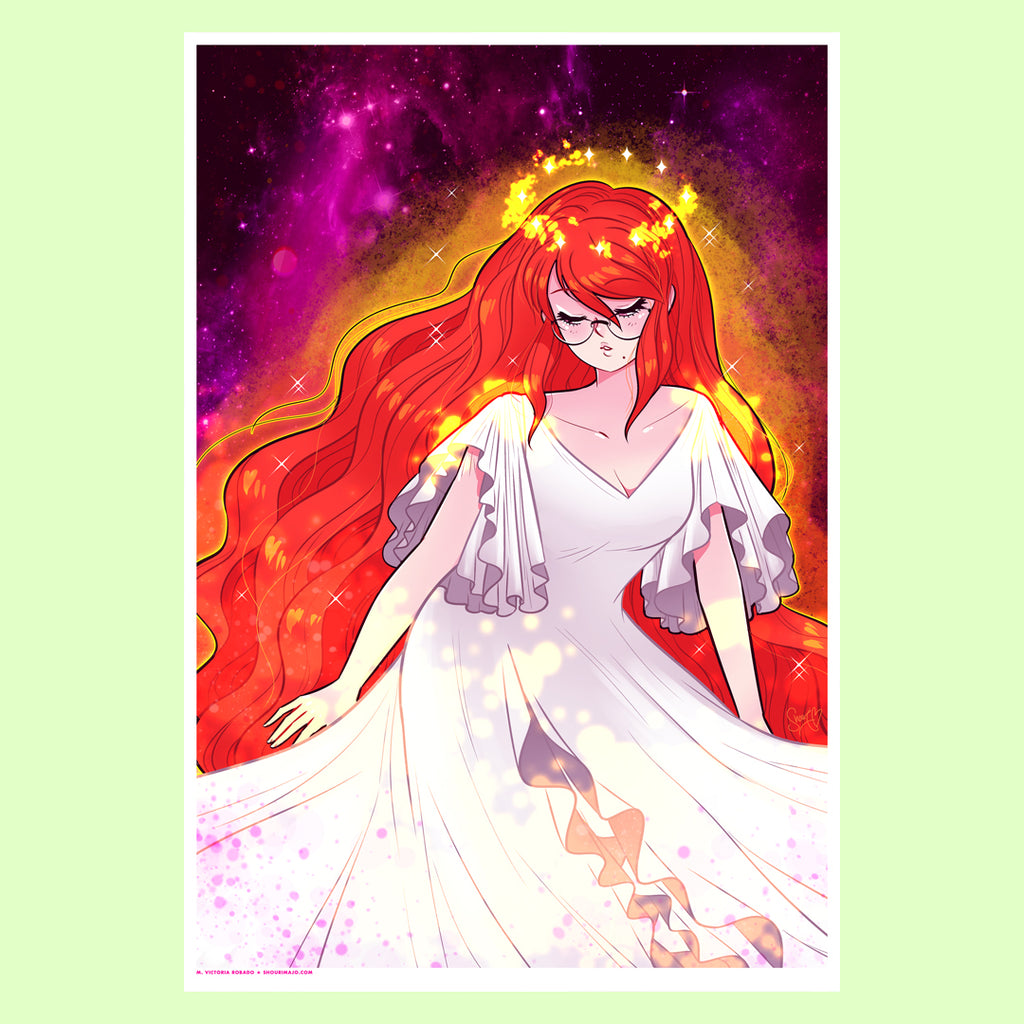 #Blessed Goddess Joanna Art Print (Signed)