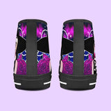 Ouija Witch High-top Canvas Shoes ♥ CUSTOM ORDER ITEM