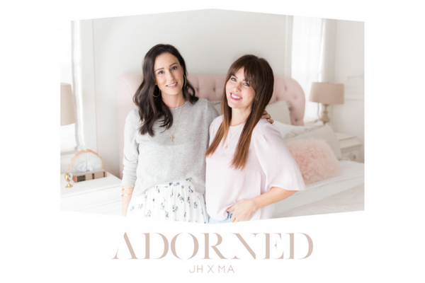 ADORNED, The latest collaboration from Jillian Harris and Melanie Auld