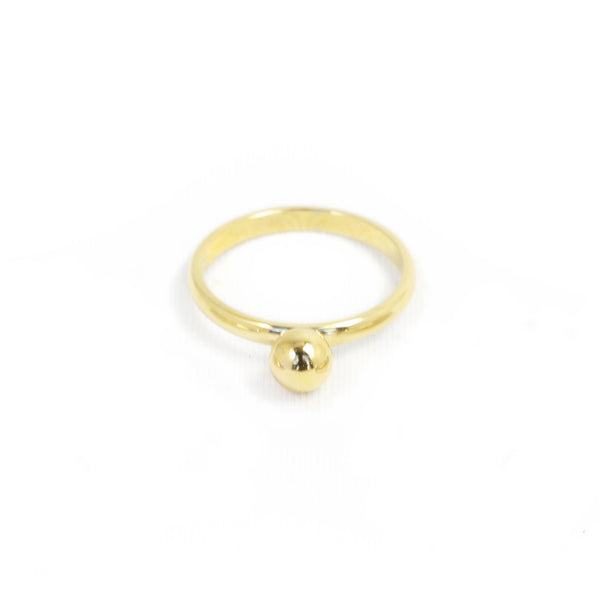 Biko Gold Ring - Dot Ring